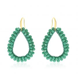 Earrings Paradiso Green
