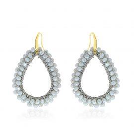 Earrings Paradiso Grey