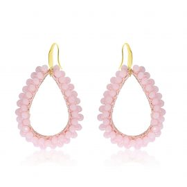 Earrings Paradiso Light Pink