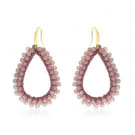 Earrings Paradiso Light Purple