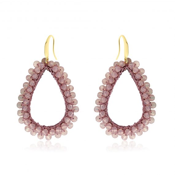 Earrings Paradiso Light Purple