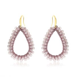 Earrings Paradiso Soft Pink