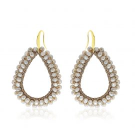 Earrings Paradiso Taupe