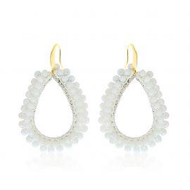 Earrings Paradiso White